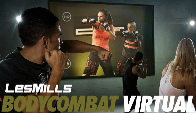 LESMILLS BODYCOMBAT VIRTUAL